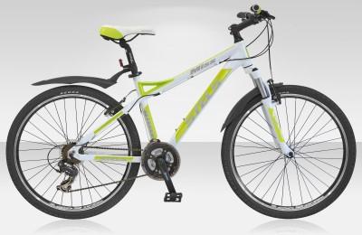 Велосипед Stels Miss-8100 V 26.15Велосипеды Stels<br>Представляем элегантный женский спортивный велосипед Stels Miss 8100 V 2015 года для увлекательной езды как по ровным шоссе, так и по тяжёлому грунту. Продукция компании завоевала спрос спортсменов во всём мире. Stels Miss 8100 V создан с учетом всех поже...<br>