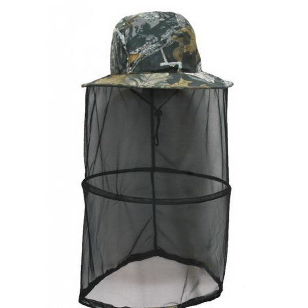 Панама Восток с москитной сеткой с кольцом цв.ЛесКепки/панамы/бейсболки<br>Головной убор с широкими полями предназначен для носки в жаркую летнюю погоду. Идеально подойдет для охотников, рыболовов и пчеловодов.<br>