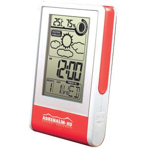 Мобильная погодная станция Adrenalin Weather Report SТермометры, погодные станции<br>Мобильная погодная станция Weather Report S – идеальный спутник, как в дальнем путешествии, так и в деловой командировке. На контрастном ЖК-дисплее отображается информация о температуре, влажности, дате, времени, фазе Луны. По результатам измерений прибор...<br>