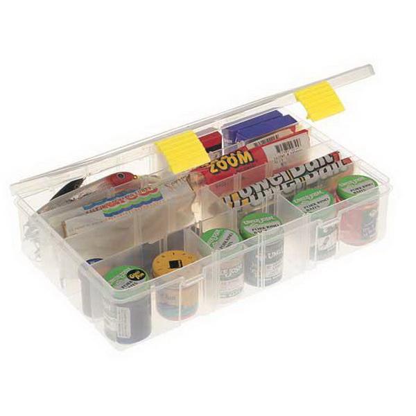 Коробка Plano 2-3730-00Коробки<br>Коробка для рыболовных принадлежностей, выполнена из ударопрочного пластика, с надежными запорами.<br>