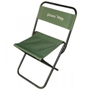 Стул раскладной GreenWay 31x37x59Стулья, кресла складные<br>Комфортные складные стулья. Выдерживает нагрузку до 90 кг. <br>