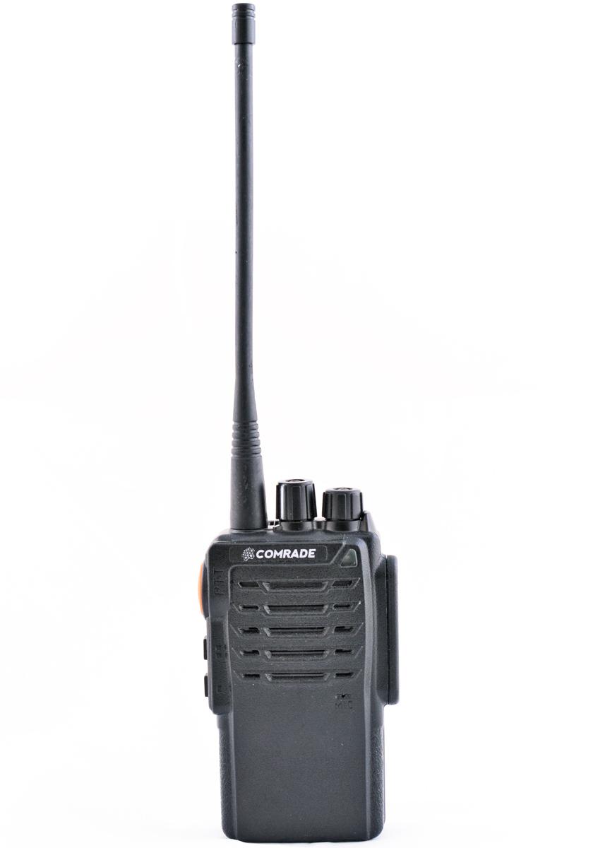 Радиостанция COMRADE R 3Полупрофессиональные<br>Рация Comrade R3 выполнена в соответствии с современными техническими разработками. Работает с 16 каналами связи в верхнем частотном диапазоне.<br>
