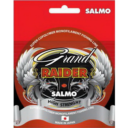 Монолеска Salmo Grand Raider 150/016 (67517)Монофильные лески<br>Леска производится на заводе в Японии, предназначена для всесезонного использования.<br>