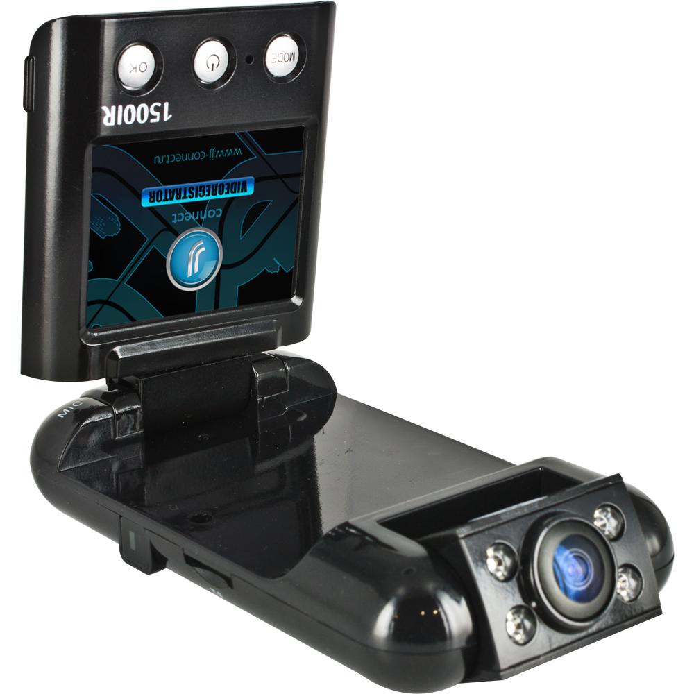 Видеорегистратор JJ-Connect Videoregistrator 1500IRВидеорегистраторы<br>Новый видеорегистратор JJ-Connect Videoregistrator выполнен в усовершенствованном корпусе со специальным покрытием Ultra Gloss<br>