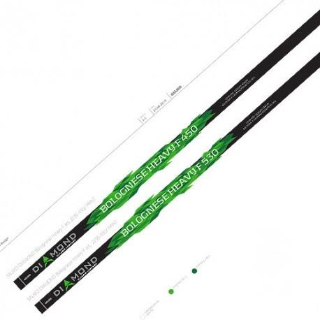 Удилище Salmo попл.с кол. Elite Bolognese Heavy F 6.01 5402-600 (86904)Удилища телескопические с кольцами<br>Высококачественное легкое удилище с средне-быстрым строем, изготовленное <br>из графита IM8. Удилище укомплектовано облегченными кольцами <br>с высококачественными вставками SIC и надежным катушкодержателем. <br>Верхнее колено имеет два дополнительных разгрузоч...<br>