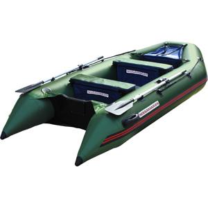 Надувная лодка Nissamaran Tornado 320 (цвет зеленый)