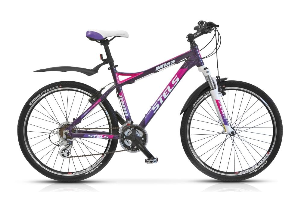 Велосипед Stels Miss-8300 V 26.15Велосипеды Stels<br>Маунтинбайк Stels Miss 8300 V предоставит своей владелице возможность не только проводить приятно свое свободное время, но и активно заниматься спортом. Основным компонентом модели является высокопрочная и легкая рама, произведенная из алюминиевого сплава...<br>