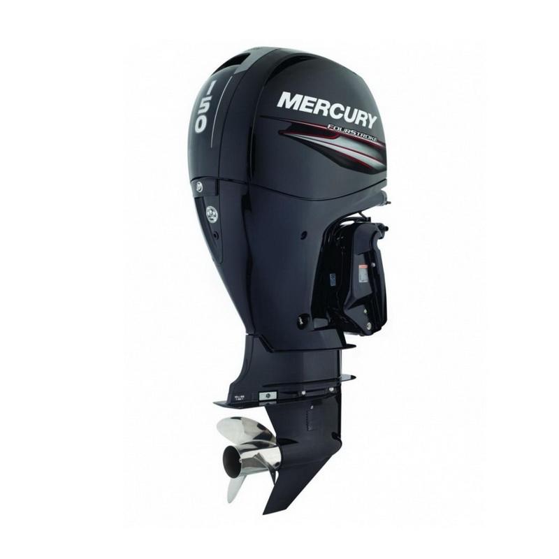 Мотор Mercury ME F150 XL EFIПодвесные моторы<br>Четырехтактный подвесной лодочный мотор с небольшим весом и экономичным потреблением топлива. Двигатель оснащен вспомогательной балансировочной системой.<br>