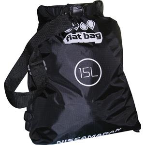 Герметичный мешок Nissamaran Flat BagГермомешки<br>Легкая, прочная, сумка NISSAMARAN Flat Bag из плотной непромокаемой синтетической ткани.Размер - 15 литров.<br>