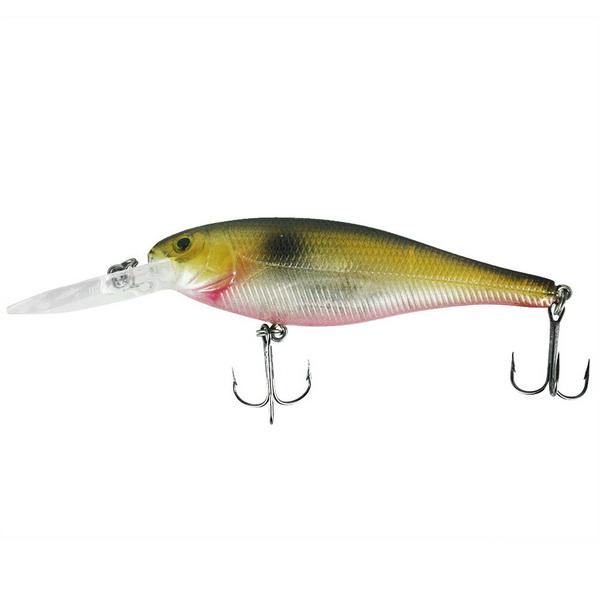 Воблер Trout Pro Jerk Shad 78Su / G03 (38257)Воблеры<br>Совершенно новый воблер, разработанный специально для любителей рыбной ловли с использованием рывковых проводок. Приманка обладает активной, и в тоже время, очень широкой игрой, особенно привлекающей щуку окуня.<br>