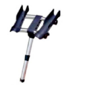 Держатель удилища 2 в 1 rod mount пластикДержатели<br>Пластиковый держатель для удилищ. Двойной.  Крепится на левый борт. Подходит (устанавливается) к стандартному держателю удилищ<br>