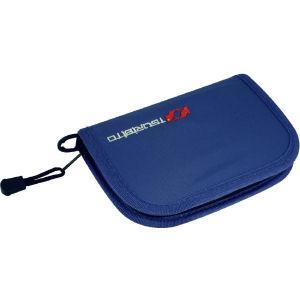 Кошелёк для блёсен TSURIBITO WALLET размер L / цвет BLUEЧехлы<br>Удобный кошелек для хранения и перевозки блесен, мормышек и различных небольших приманок<br>