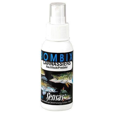 Спрей Sensas Bombix Pike 0.075лАроматизаторы / Добавки<br>Этот спрей предназначен для ловли всех типов хищных рыб, особенно хорошо себя проявил при ловле щуки. Обрабатывайте им блесны, пластиковые приманки и мертвых рыбок для снасточек.<br>