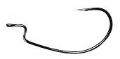 Крючки Noike Trap Hook #3 (104337)Офсетные крючки<br>Универсальный размерный ряд крючков этой серии отлично подойдет для оснащения любого вида и размера приманки. Зарекомендовавшая себя на протяжении многих лет форма крючка прекрасно просекает ткани рта рыбы и отлично ее удерживает. Крючки изготовлены из уп...<br>