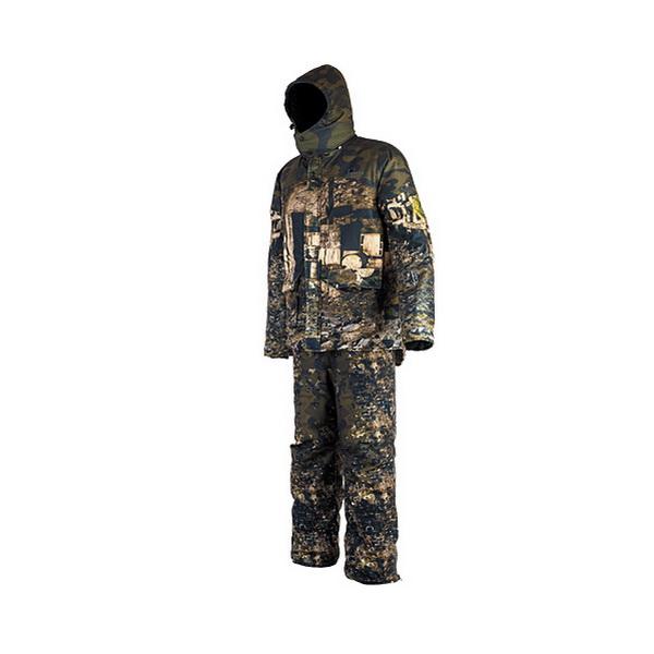 Костюм зимний Pirate Хаски Пейнтбол 60-62 (182-188) (81803)Костюмы/комбинезоны<br>Функциональный зимний костюм от компании Pirate-Tex, специализирующейся на одежде для рыболовов и охотников. Для производства костюма была использована качественная ткань с мембраной с нанесенным на нее оригинальным рисунком, не имеющим аналогов на отечес...<br>