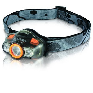 Универсальный налобный фонарь Adrenalin Ultima Focus +Фонари налобные<br>Функциональные особенности:<br><br>- до 6 часов непрерывной работы;<br>- плотность светового потока до 26 люмен;<br>- дополнительные красный и зеленый светодиоды.<br>