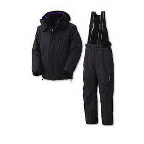 Костюм DAIWA XVX XW-3413 BLACK 3L (теплый) (21456)Костюмы/комбинезоны<br>Тёплый костюм с нагрудным карманом и двумя боковыми карманами на брюках, влаго- и воздухоустойчивый.<br>
