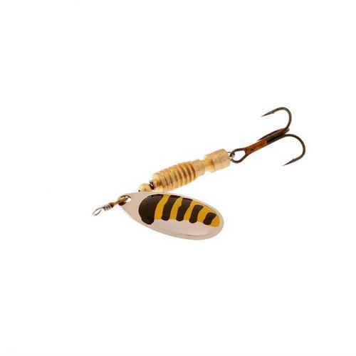 Блесна Norstream Silta Spinner №1 Silver Black/yellow 3910-073 (39548)Блесны<br>высококачественная вращающаяся блесна на щуку, судака, голавля и в первую очередь, окуня.<br>