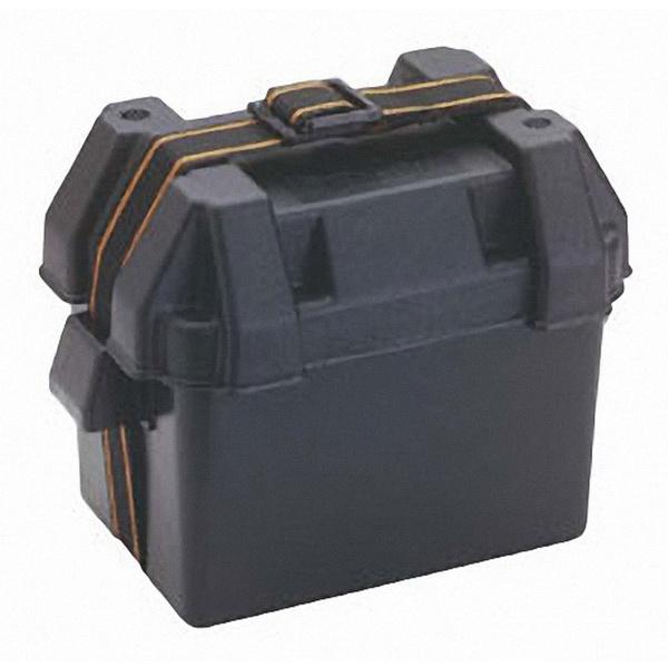 Бокс Attwood для аккумулятора «Small» (9082-1)Аккумуляторы<br>Вентилируемый бокс для аккумулятора из полипропилена<br>
