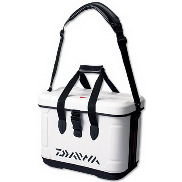 Сумка-холодильник Daiwa PV Hd Cool Bag White 38Холодильники<br>Сумка имеет жесткий прочный корпус. Изготовлена из высокопрочного, водонепроницаемого материала<br>
