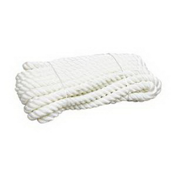 Канат Laker Polyester &amp;Polyester Wool Mixed Mutifilament Rope, White 12mm (34026)Канаты<br>Канат Laker – лучшее решение для рыболовов и мореходов!<br>