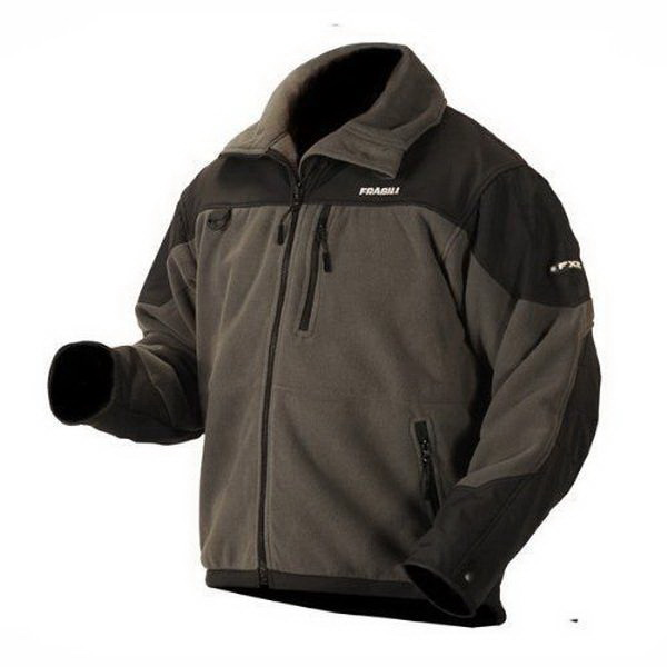 Куртка флисовая Frabill FLC WindProof Gray MED 11 (66634)Куртки<br>Теплая куртка, идеально адаптирована для рыболовов. Специальное покрытие обеспечивает надежную защиту от ветра и дождя, чтобы максимально обезопасить владельца во время нахождения на открытой местности.<br>