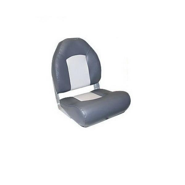 Кресло Мореман с боковой поддержкой, серый/темно-серый (EE-86115_Grey/Charcoal) (65066)Сиденья<br>Удобное мягкое кресло с боковой поддержкой сидений. Кресло имеет обивку из винила, которая придает дополнительное удобство и комфорт при сидении.<br>