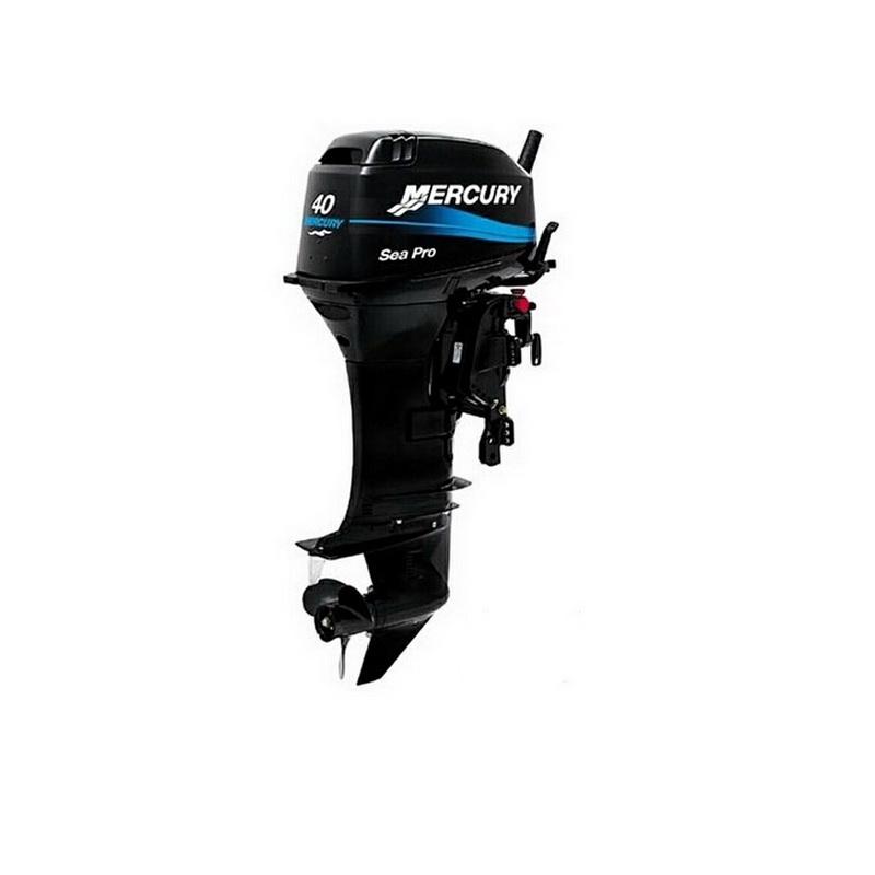 Мотор Mercury ME 40M Sea ProПодвесные моторы<br>Двухтактный подвесной лодочный мотор предназначен для эксплуатации в жестких условиях. Все элементы конструкции выполнены из материалов с высокой коррозионной стойкостью.<br>