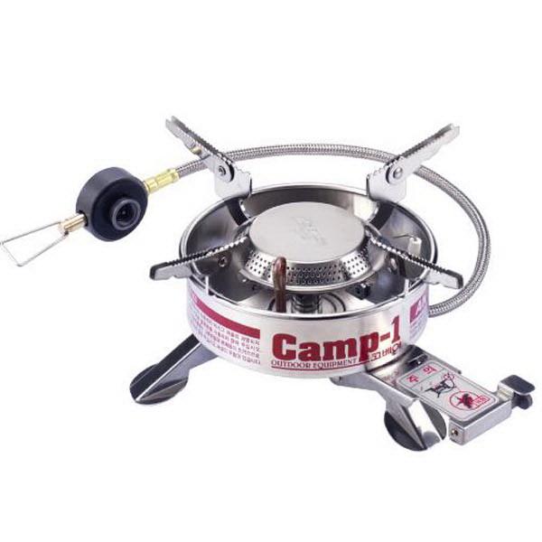 Горелка Kovea газовая со шлангом ТКВ-9703-1LГорелки<br>Газовая горелка позволяет держать баллон газа в тепле, за счёт шланга. Выдерживает низкие температуры, снабжена системой предварительного подогрева газа.<br>