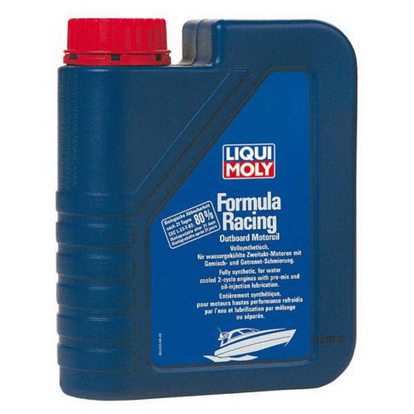 Масло Liquimoly для 2-тактных ПЛМ синт. Formula Racing Outboard Motoroil (1л) от Liqui Moly