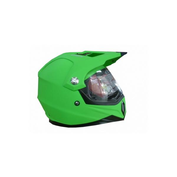 Шлем Stels MX453 XL (76630)Шлемы и маски<br>Высококачественный шлем с антицарапающейся поверхностью. Отлично защищает голову владельца снегоходной машины.<br>