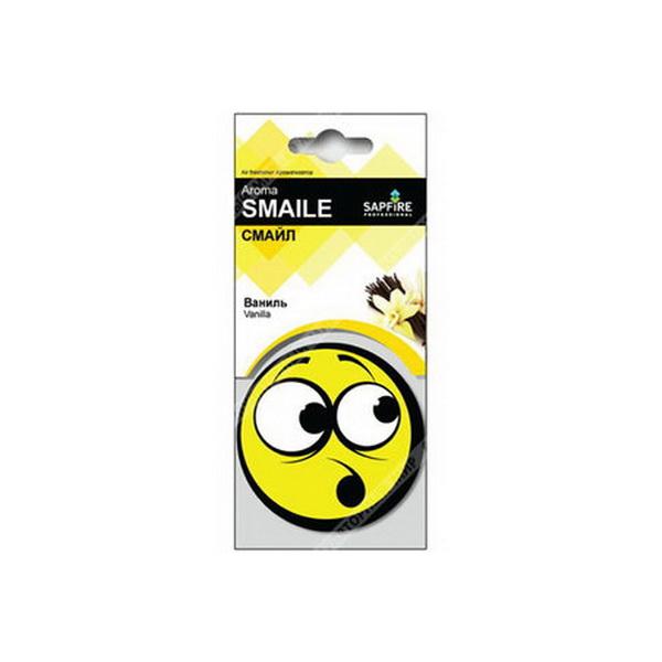 Ароматизатор Sapfire Smaile Fresh в асс.Автогаджеты<br>Современные автомобильные ароматизаторы прекрасно справляются с нейтрализацией запаха бензина или табачного дыма. Они также наполняют салон автомобиля приятным запахом, помогающим взбодриться и сосредоточиться на дороге.<br>