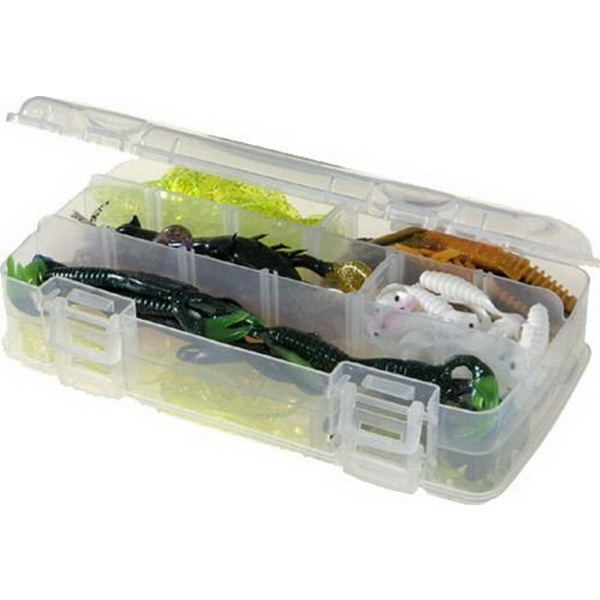 Коробка Plano 3500-22Коробки<br>Коробка для рыболовных принадлежностей, выполнена из ударопрочного пластика, с надежными запорами.<br>