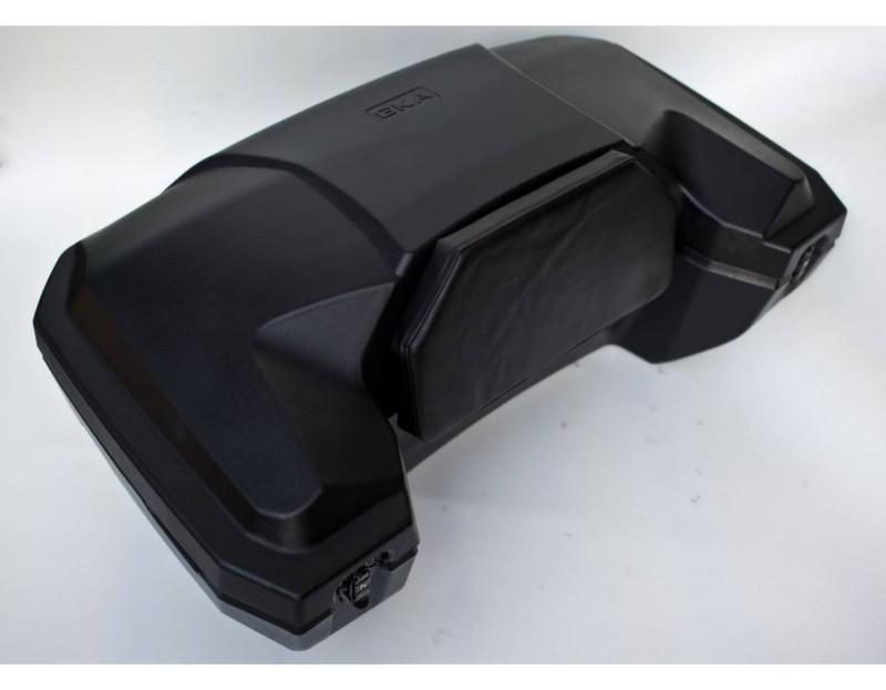 Кофр GKA задний 8030Кофры<br>Полный аналог превосходной модели Quadrax Hi-Volume - по неимоверно доступной цене.<br><br>Материал кофра: ударопрочный пластик. Материал не ломается при низких температурах и не деформируется при жаркой погоде.<br>