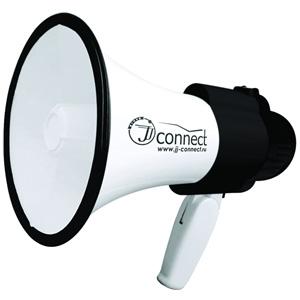 Мегафон JJ-Connect Megaphone Pro 10Мегафоны<br>Профессиональный мегафон JJ-Connect Pro 10 отличается оптимальным<br>сочетанием габаритов и мощности. Эффективное расстояние действия мегафона составляет 400 метров.<br>