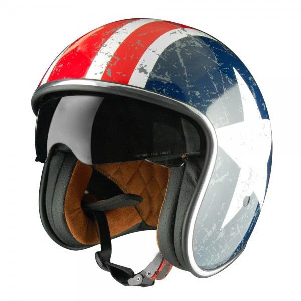 ШлемOrigine (модуляр) Solid Riviera Rebel StarглянцевыйXL (81642)Шлемы и маски<br>Самый модный и продвинутый шлем в коллекции Origine. Имеет большой визор для хорошей видимости.<br>