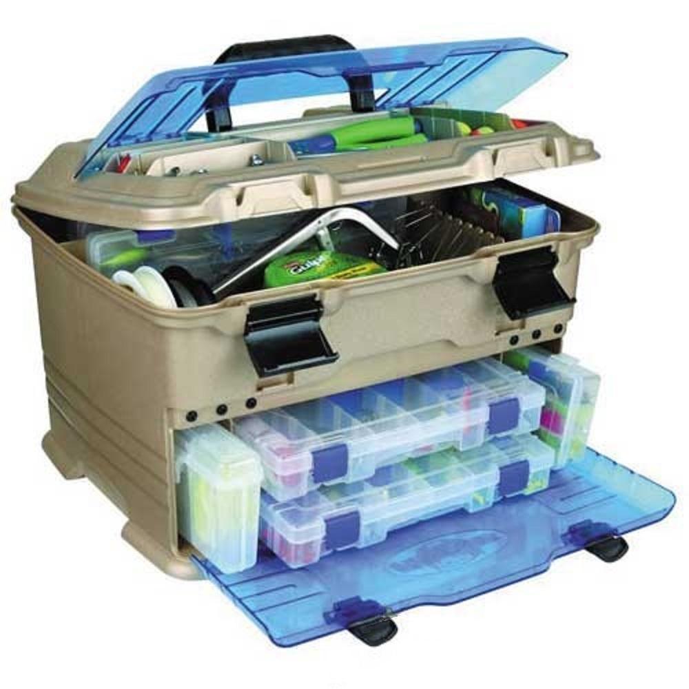 Ящик рыболовный Flambeau пласт. T5P Multiloader Pro Zerust 6320TBЯщики<br>Рыболовный пластиковый ящик Flambeau T5P 6320TB - незаменимая вещь для длительного хранения и переноски различных принадлежностей для летней рыбалки. <br>