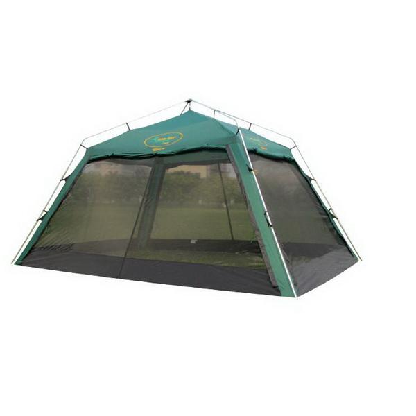 Тент Canadian Camper Zodiac plus тент-шатер (стальные стойки) (цвет woodland)