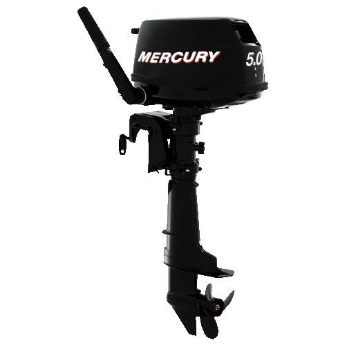 Лодочный мотор Mercury ME F 5 MПодвесные моторы<br><br>