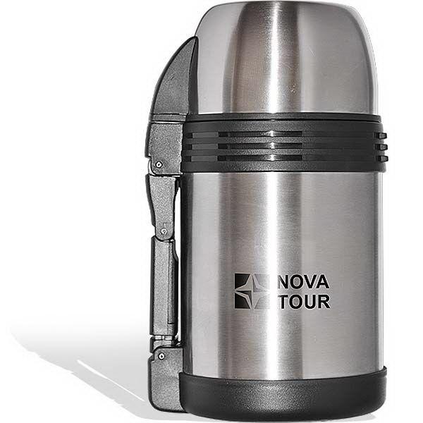 Термос NovaTour Биг Бэн 1200Термосы<br>Универсальный вакуумный термос NovaTour Биг Бэн 1200 предназначен для хранения напитков и продуктов. Для удобства использования термос оснащен широким горлом, дополнен съемным регулируемым ремешком и пластиковой ручкой.<br>