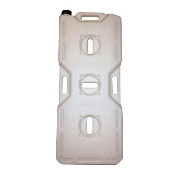Канистра Экстрим 20л белаяКанистры<br>Экспедиционная пластиковая канистра, предназначенная для транспортировки различных видов топлива, таких как бензин, керосин и дизтопливо. Изготовлена из прочного полимерного материала.<br>