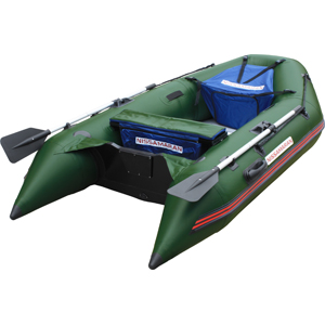 Надувная ПВХ лодка Nissamaran Musson 290 с пайолом, цвет зеленыйЛодки ПВХ под мотор<br>Надувные моторно-гребные лодки Nissamaran соответствуют международным стандартам качества. К разработке лодок привлекались квалифицированные зарубежные специалисты и мастера, чей опыт и знания оттачивались в течении десятков лет. Специальная серия моторн...<br>