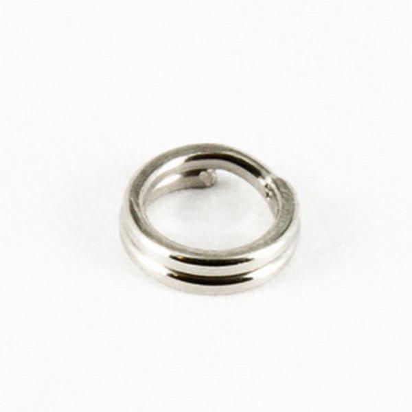 Заводное кольцо Tsuribito Split Ring  6 mm (упаковка 20 штук) (23614)