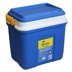 Контейнер Camping World изотермический Fiesta 28 лХолодильники<br>Популярная итальянская серия изотермических контейнеров Fiesta, сочетает в себе отличные технические характеристики, стильное сочетание синего и желтого цветов и доступные цены.<br>