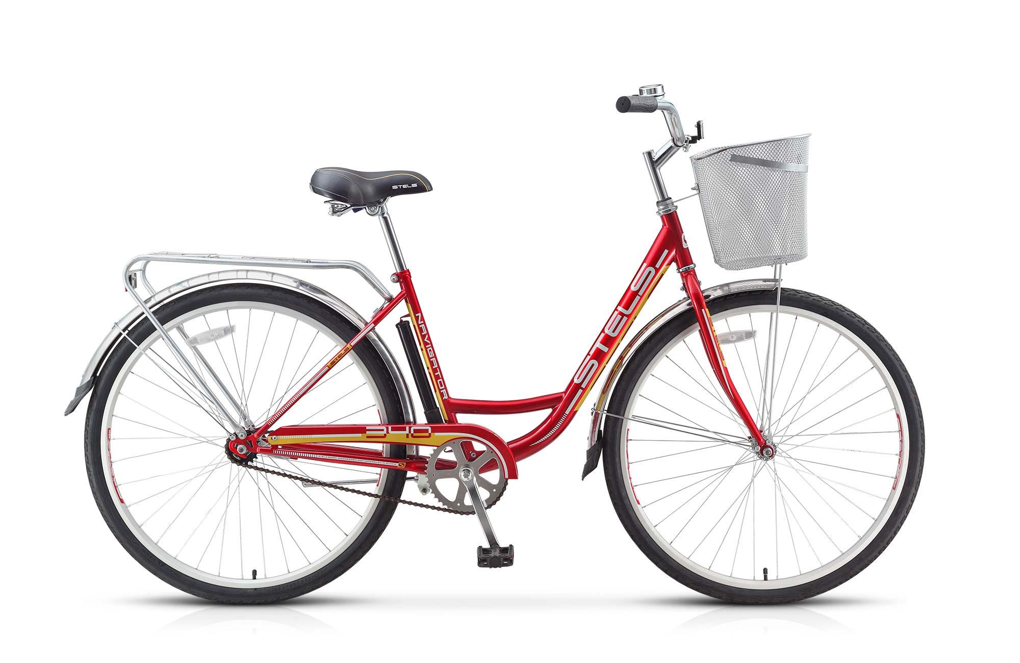Велосипед Stels Navigator-340 Lady 28.15Велосипеды Stels<br>Женский комфортный велосипед Stels Navigator 340 Lady 2015 года отличается потрясающим удобством и стильным, модным дизайном, который придется по вкусу современным девушкам. Модель прекрасно подходит для катания по асфальту, лесным и парковым дорожкам. Ус...<br>