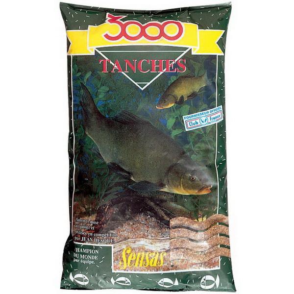 Прикормка Sensas 3000 TENCH 1кгПрикормки<br>Высококачественная смесь, ориентированная на быстрое привлечение рыбы в зону ловли. В ее состав входят семена крупного помола.<br>