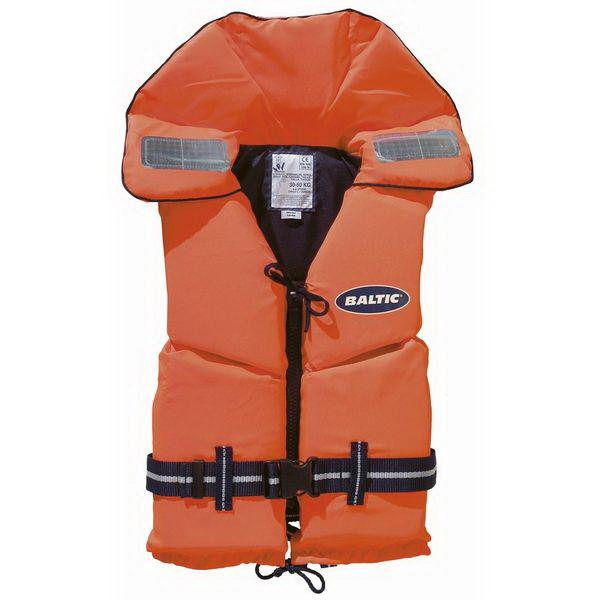 Спасательный жилет Baltic 1244, детский, (оранжевый, размер 30-50 кг)Спасательные жилеты <br>Детский спасательный жилет предназначен для весовой категории от 15 до 30 кг. Передняя молния оснащена специальным карабином для быстрого застегивания.<br>