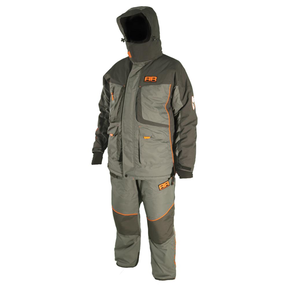Костюм для зимней рыбалки Adrenalin Republic Rover -25, серый/графитКостюмы/комбинзоны<br>Костюм состоит из куртки и штанов. Специальная конструкция подкладки с зонами, улучшающими отвод влаги, усилением материала в области колен и седалища.<br>