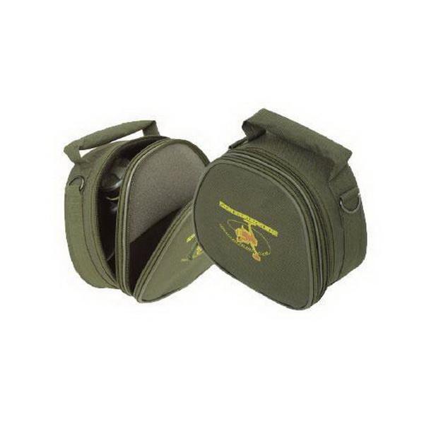 Футляр ACROPOLIS сумка для безинерц. кат.  жесткий FBK-4Чехлы<br>Футляр для безинерционной катушки со шпулей. Изготовлен из пластикового материала, обшитого сверху водонепроницаемой тканью.<br>