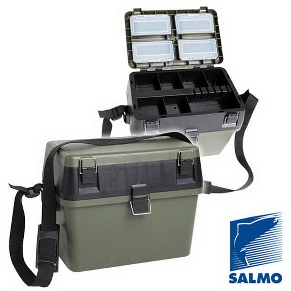 Ящик рыболовный Salmo зим. пласт. 38x24,5x29